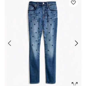 Madewell High Rise Boyfriend Jeans